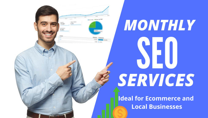 Monthly SEO services, For Google Top Ranking,  On and Off Page Optimisation