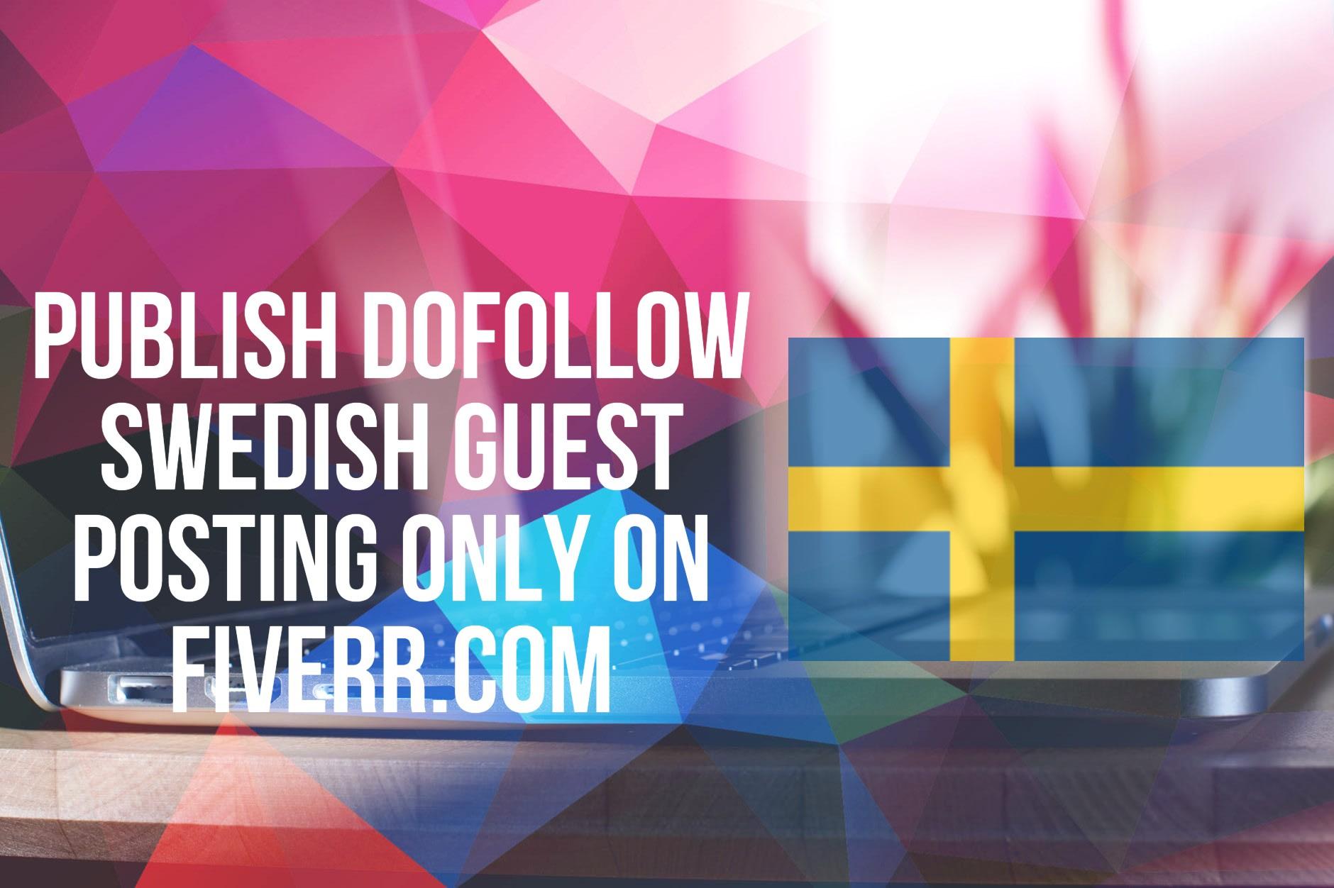 publish swedish guest posting with 114k traffic