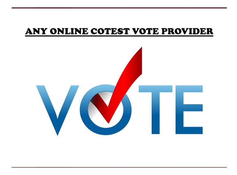 provide online votes for you. Any online voting contest of social media