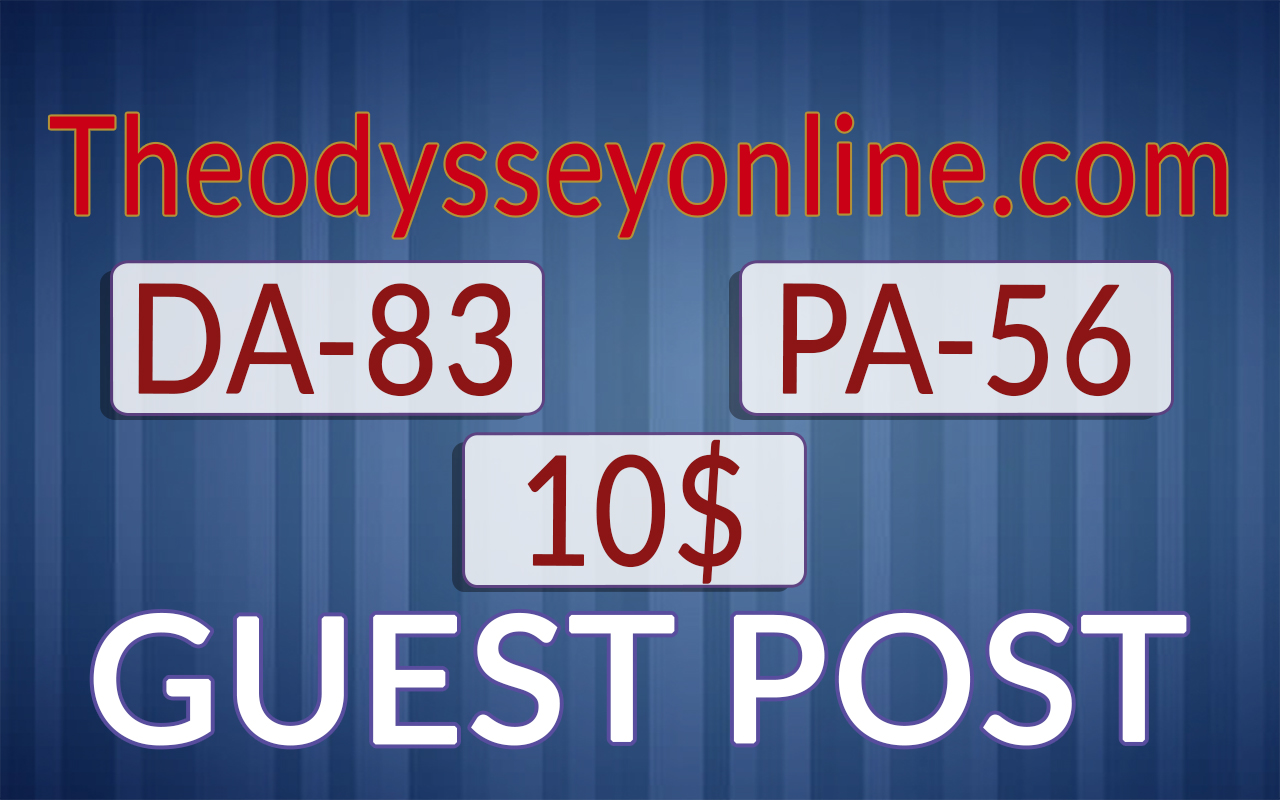 I will Publish Guest post on Theodysseyonline. com