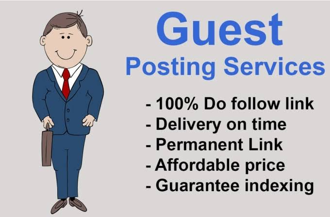 I will do guest post on High DA niche related websites