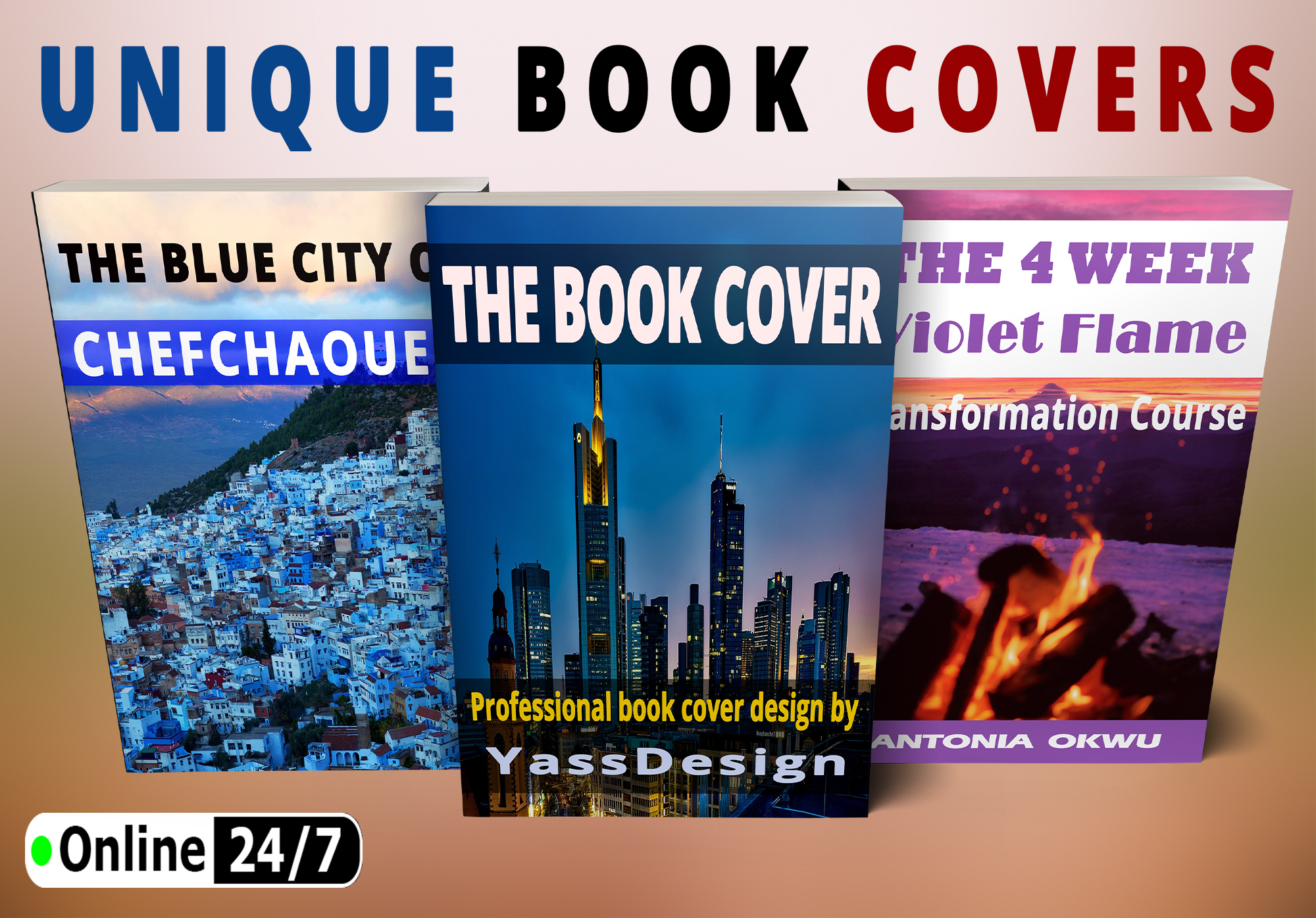 I will create book cover design,  ebook cover or kindle book cover design