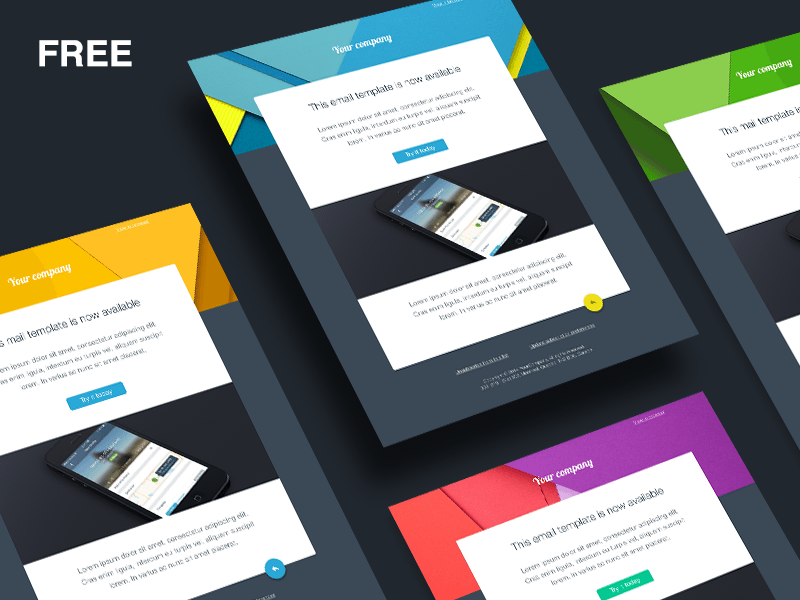 I will design you 1 email template and you will get 2 for free
