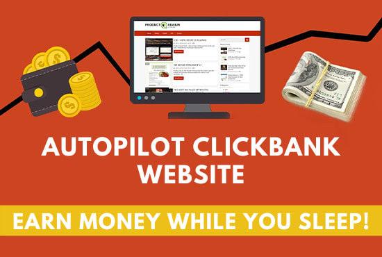 I will create autopilot clickbank website on wordpress