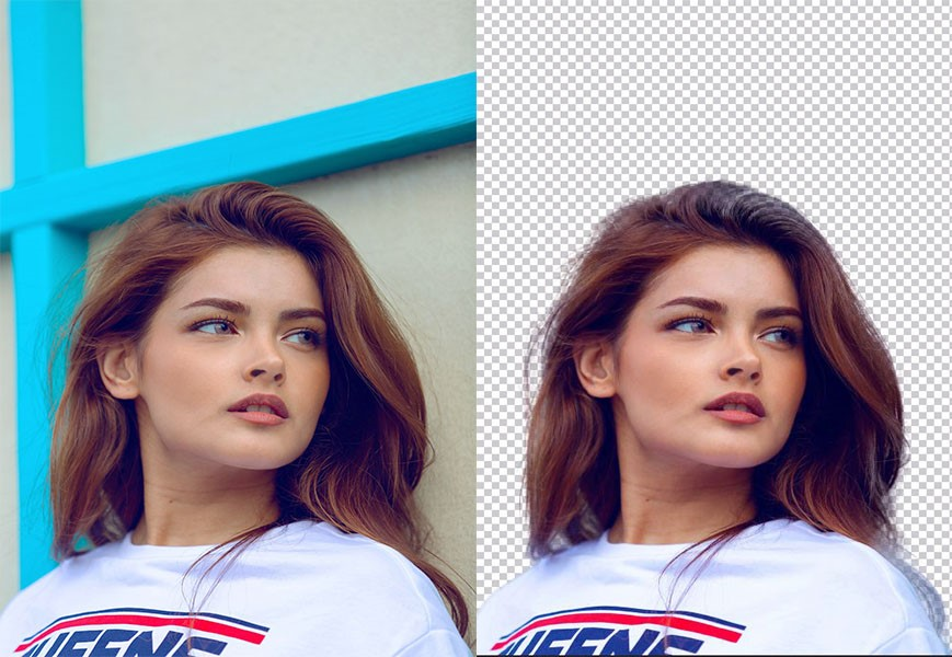 5 Image Remove background professionally using Adobe Photoshop,  within 24 hours delivery for 2