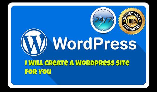 I will design or redesign responsive wordpress website