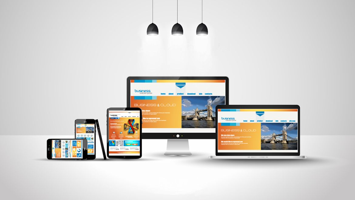 I will create clean and responsive website design