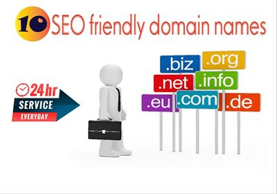 I will suggest best seo friendly domain names