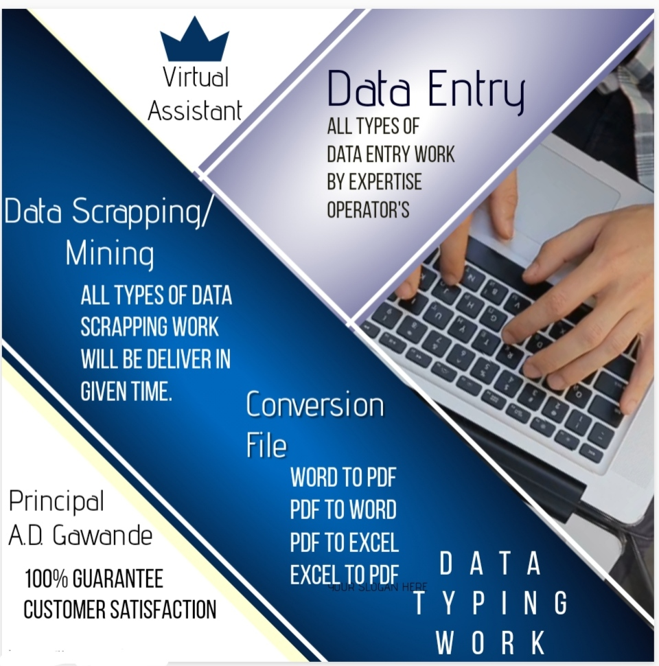 I will provide accurate web scrapping,  data mining,  data entry and data collection