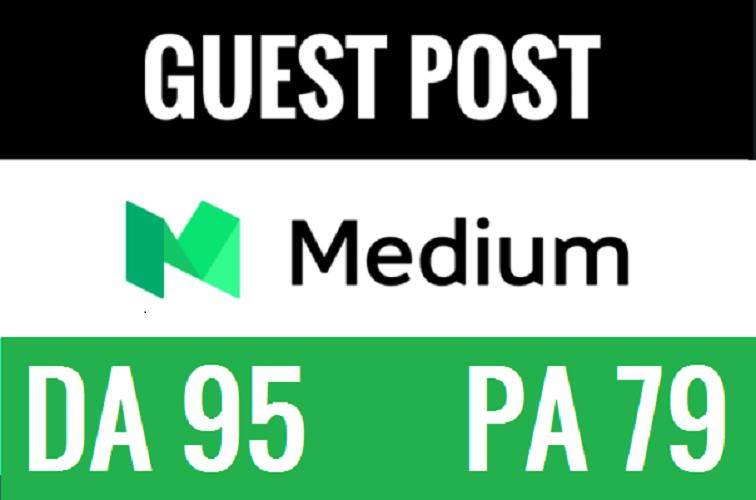 i Publish A Guest Post On Medium. Com DA 96