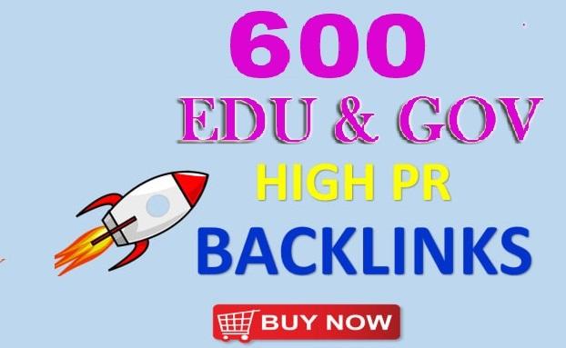 600 High quality PR Edu and Gov Redirect Backlinks