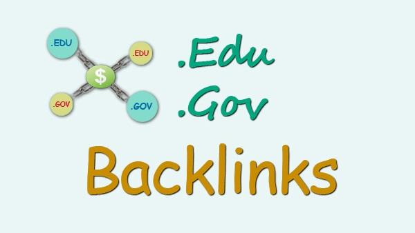 High quality 100 Edu and Gov Redirect Backlinks