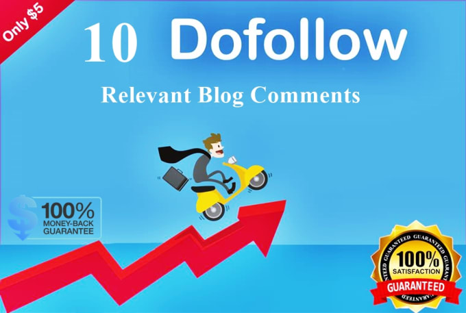 I will Create 10 Niche relevant dofollow blog comments