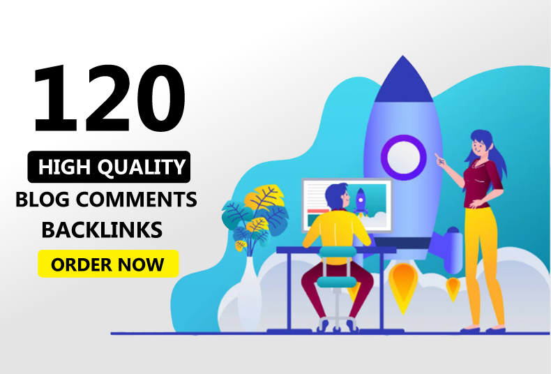Create 120 High quality do-follow blog comments on quality sites