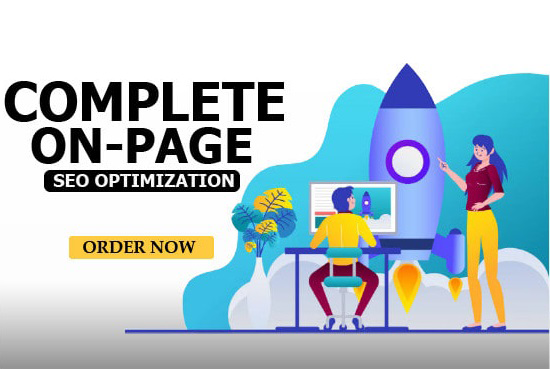 Complete on-page seo optimization of your wordpress website