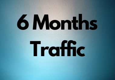Unlimited Traffic for 6 Month for traffic resellers from USA Low Bounce keyword Targeted
