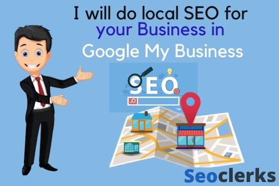 I will do local SEO for your business with google my business