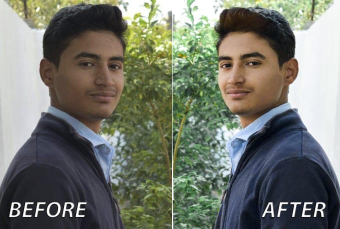 I will do professional Photoshop Editing and Photo Retouching