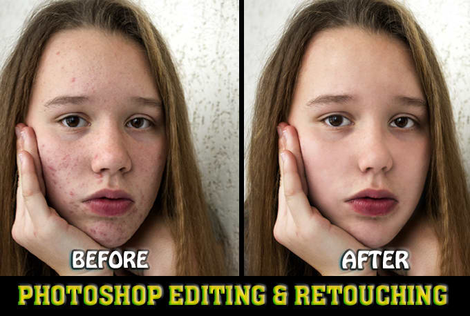 I will do professional Photoshop Editing and Photo Retouching