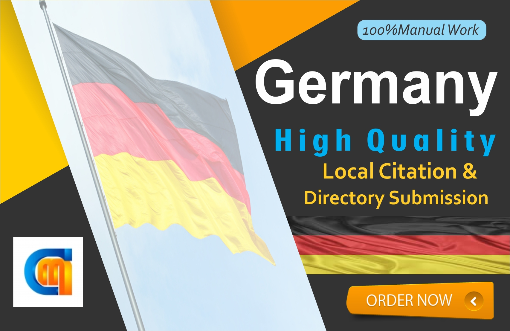 I will do200 germany local citations for your business