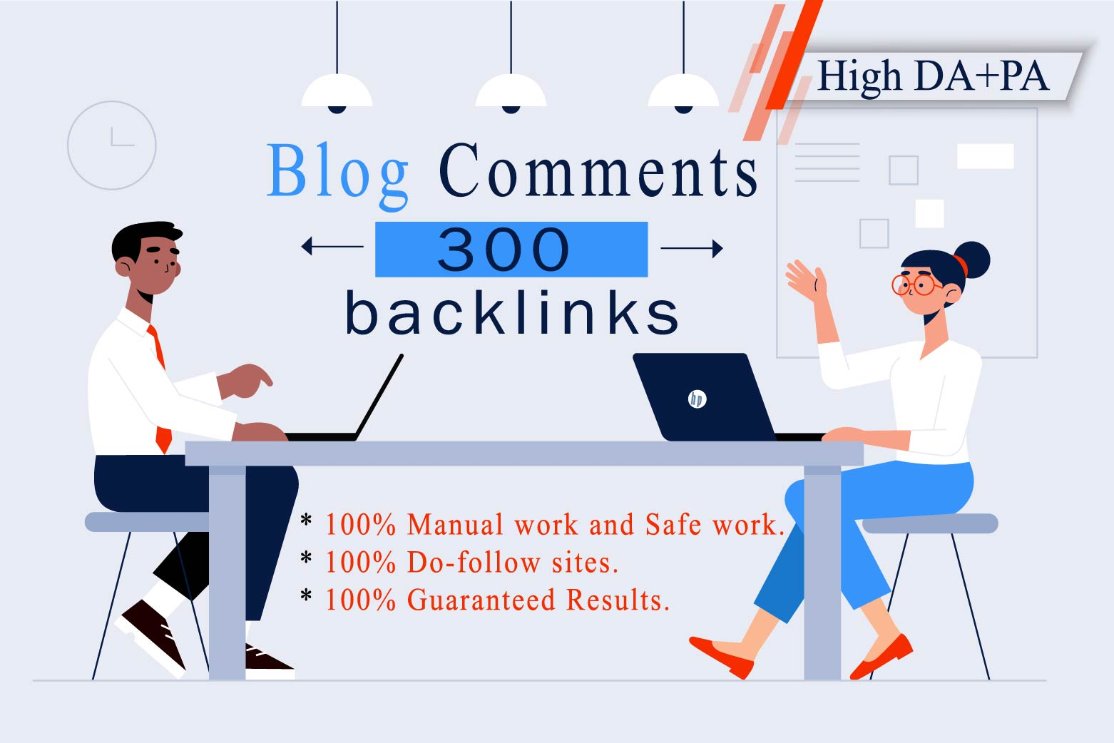 I will provide 300 dofollow blog comments backlinks with white hat manual link building servicen