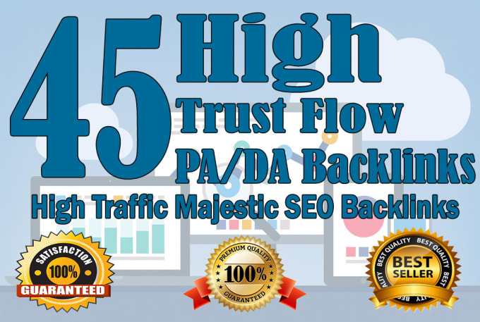 Create 45 DA/PA High Domain Backlink For Rank A Website On Google