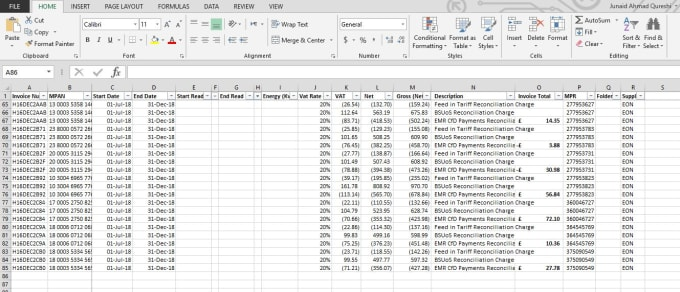 I will do product listing invoices data entry