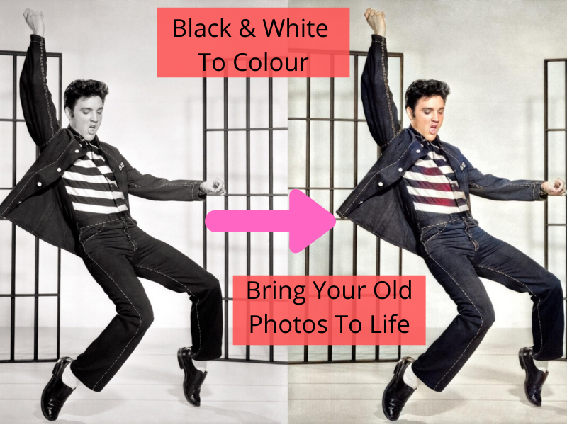 I will Bring Black & White Photos To Life - 10 Photos