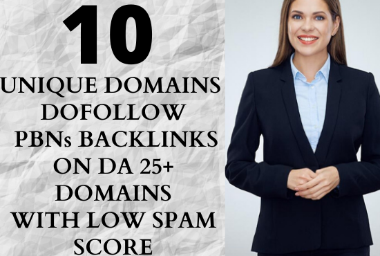 I will create 10 high quality home page dofollow permanent PBN backlinks