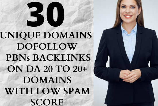 I will create 30 high quality home page dofollow permanent PBN backlinks