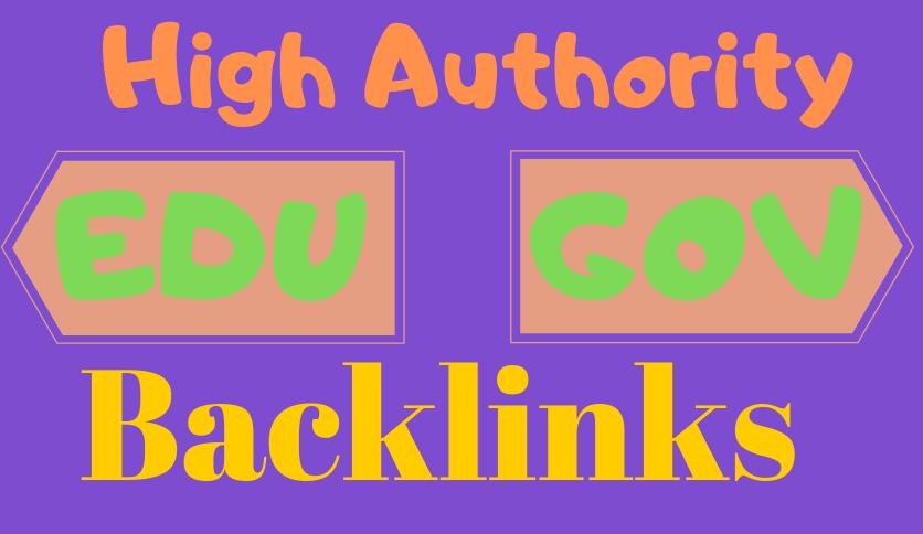 Powerful 20 edu - gov Authority High da backlinks -Blaust Your Google Ranking