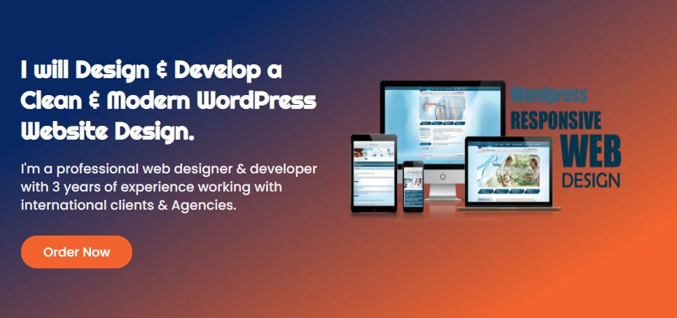Design a Modern WordPress Website using Elementor