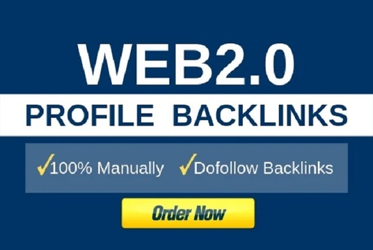 Create 1000 web2.0 Profile Backlinks Manually High Rank Your Website on Google
