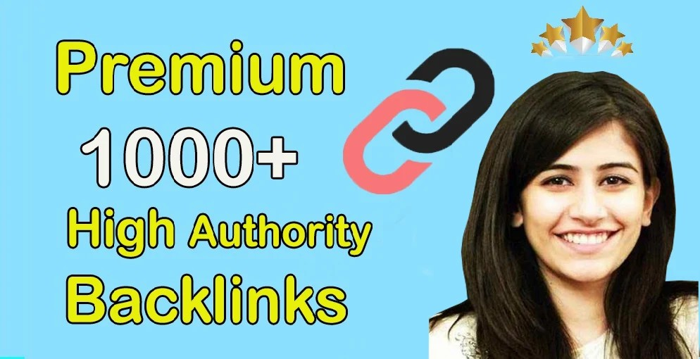 1000+ High DA 90+ HQ Links to RANK your site by boost your website authority.