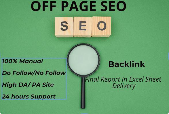 50 High domain Authority back-links