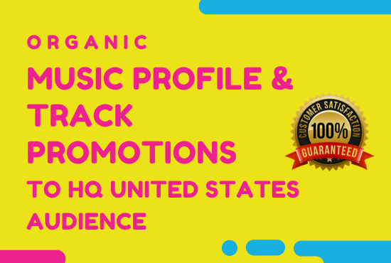I Will Promote Your Music Track To 2M+ Premium USA Audience