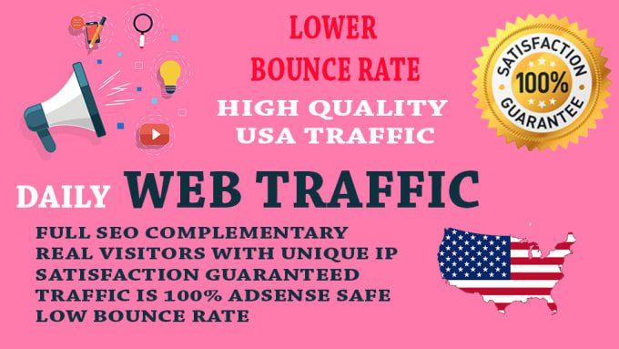 Get real us web traffic within 2 hours