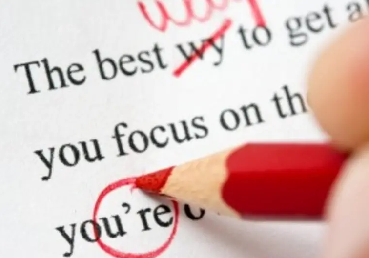 I will proofread and edit your text