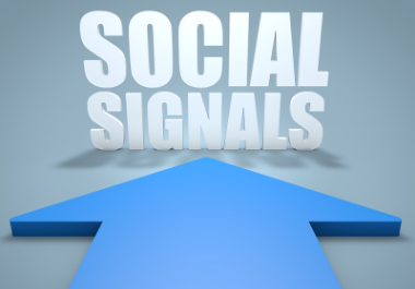 100+ High Quality Social Signal To Your Link