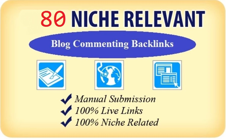 I will submit 80 niche relevant authority backlinks for SEO