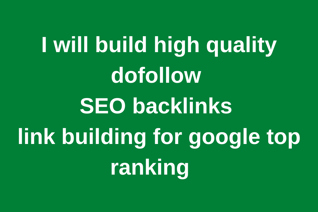 I will create 60 SEO backlinks for high ranking,  traffic and sales