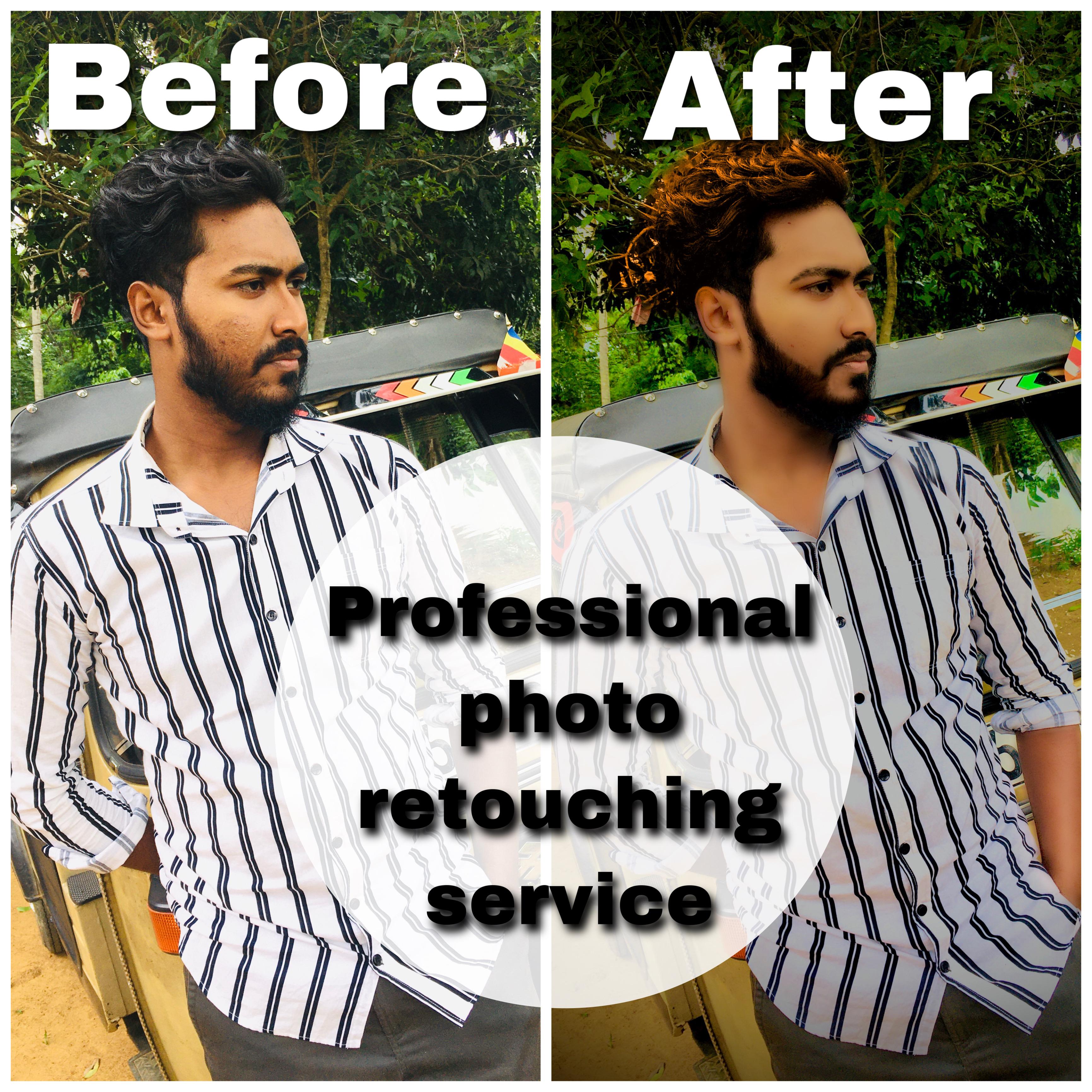 professional photo retouching service
