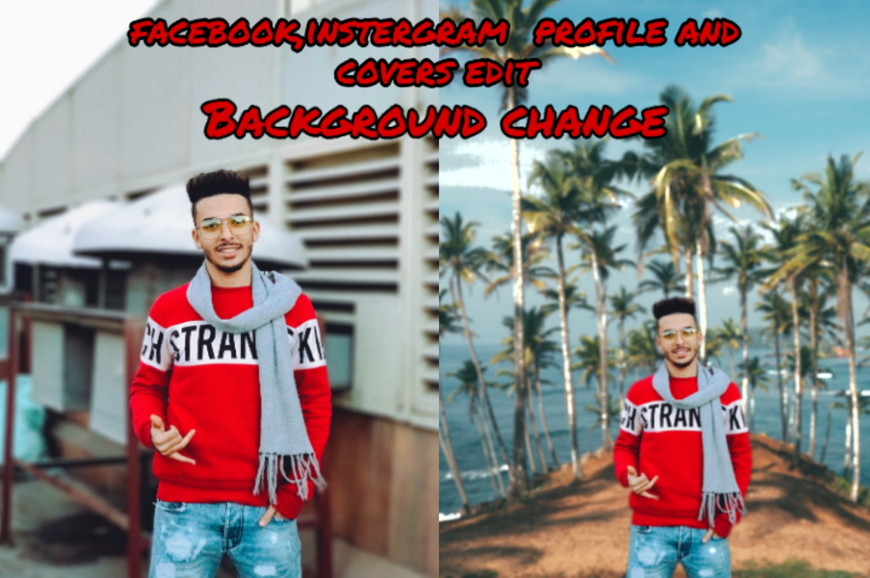 I'll design your photos. facebook and any social meadia profile and cover photo disign.