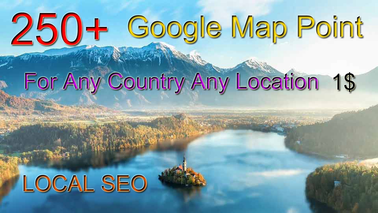 250+ Google Maps Point For LOCAL SEO