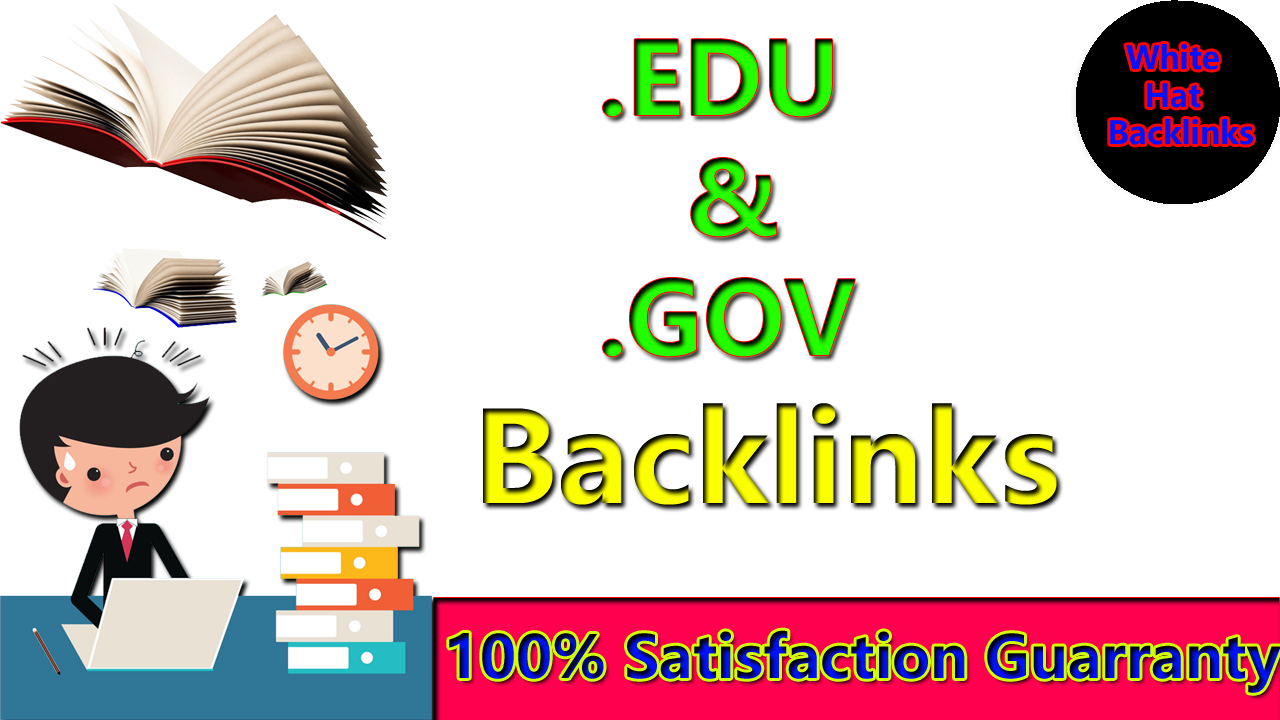 Manually create 200. EDU. GOV Dofollow Backlinks From Authority Site with google ranking