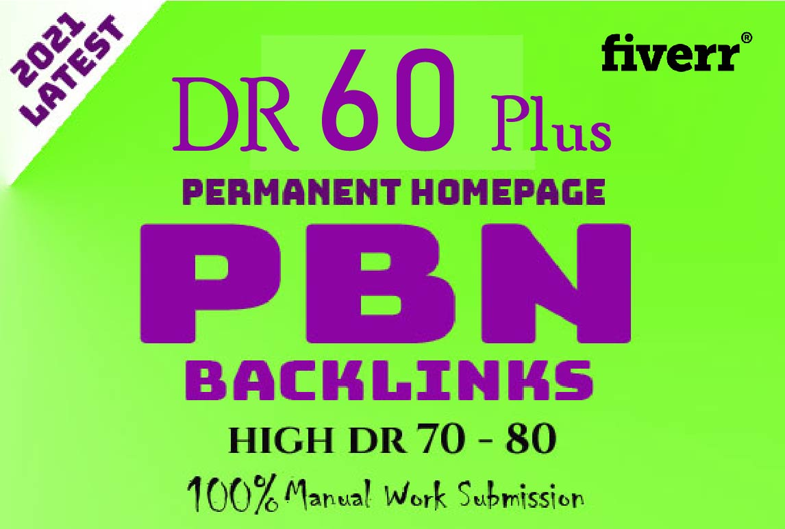 50 Powerful Homepage Dofollow PBN Links DA PA 30 Plus and 3000 2nd Tire Contextual backlinks