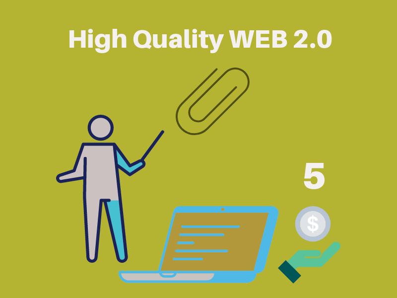 I will create high quality WEB 2.0 backlinks