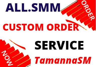 ALL S.M.M Custom Order Digital Marketing Faster Service