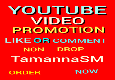 High Quality Youtube Video Promotion And Social Media Marketing Supper fast