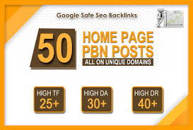 50 Manually Done High Quality PBN Dofollow homepage Backlinks